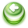 96x96px size png icon of Button Green Arrow Left