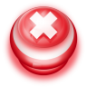 96x96px size png icon of Button Red Cancel