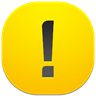 96x96px size png icon of danger