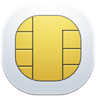 96x96px size png icon of sim card