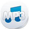 96x96px size png icon of mp 3