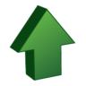 96x96px size png icon of Arrow Up