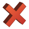 96x96px size png icon of Delete