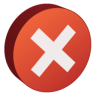 96x96px size png icon of Error