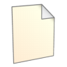 96x96px size png icon of File New