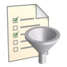 96x96px size png icon of Filter List