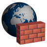 96x96px size png icon of Firewall