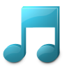 96x96px size png icon of Music player