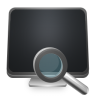 96x96px size png icon of Search Computer