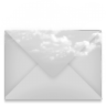 96x96px size png icon of mail envelope cloud