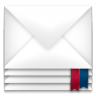 96x96px size png icon of mail envelope package