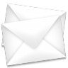 96x96px size png icon of mail envelopes