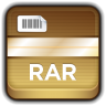 96x96px size png icon of Archive RAR