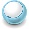96x96px size png icon of Round Blank