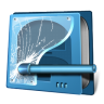 96x96px size png icon of drive security