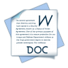 96x96px size png icon of filetype doc