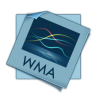 96x96px size png icon of filetype wma