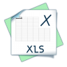 96x96px size png icon of filetype xls