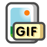 96x96px size png icon of Gif image