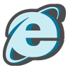 96x96px size png icon of Internet explorer