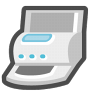 96x96px size png icon of Printers and faxes