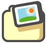 96x96px size png icon of Shared pictures