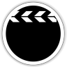 96x96px size png icon of multimedia video player