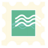 96x96px size png icon of stamp
