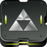 96x96px size png icon of zelda triforce