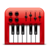 96x96px size png icon of Audio midi