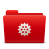 96x96px size png icon of Folder Settings