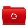 96x96px size png icon of Folder Sync