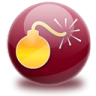 96x96px size png icon of bomb
