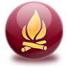 96x96px size png icon of burn