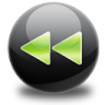 96x96px size png icon of fast backward