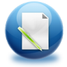 96x96px size png icon of file edit