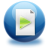96x96px size png icon of file media
