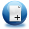 96x96px size png icon of files add