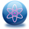 96x96px size png icon of molecule