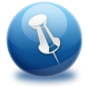 96x96px size png icon of pin