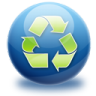 96x96px size png icon of recycle