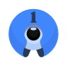 96x96px size png icon of 1Password