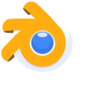96x96px size png icon of Blender