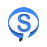 96x96px size png icon of Chat Skype