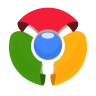 96x96px size png icon of Chrome Old