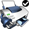 96x96px size png icon of Printer Default Network