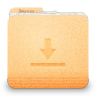 96x96px size png icon of folder download