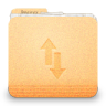 96x96px size png icon of gnome fs network