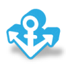 96x96px size png icon of anchor link