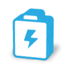 96x96px size png icon of battery